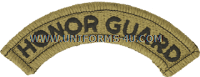 us army honor guard tab patch