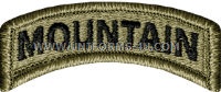 us army mountain tab patch