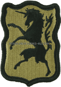us army 6th army cavalry regiment Patch