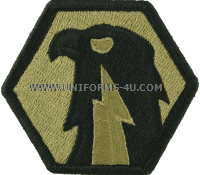 us army 6th signal command patch