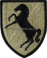 us army 11th army cavalry Patch
