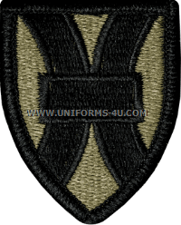 us army 21st support command patch