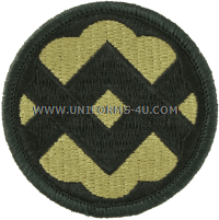 us army 32nd support command Patch