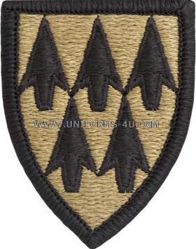 US Army 100th Missile Defense Brigade ACU Patch