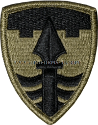 us army 43 military police brigade patch