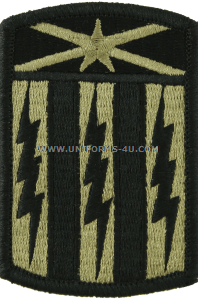 us army 53rd signal brigade patch
