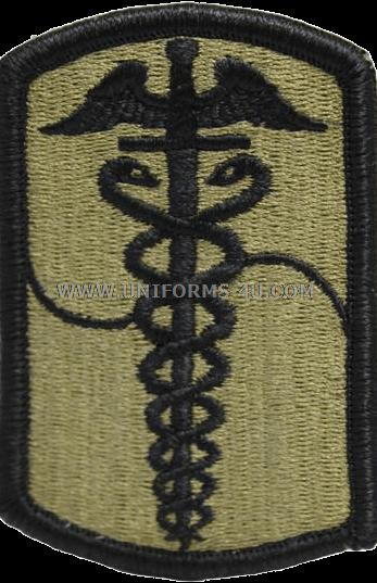 Big U Army 65th Medical Brigade Acu Patch 64913