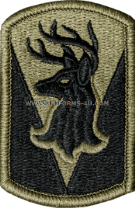 us army 86 infantry brigade combat team patch