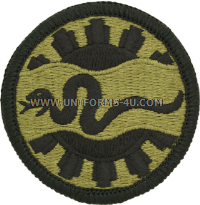 us army 116th army cavalry patch
