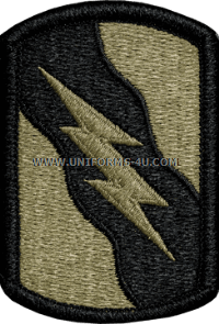 155th armor brigade ACU military Patch