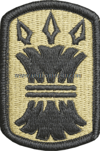 157th infantry brigade ACU military Patch