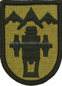 us army 169th field artillery patch