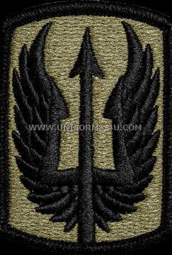 u s army 185th aviation brigade unit patch the salute uniforms