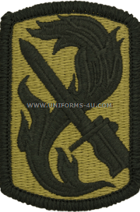 198th infantry brigade acu military patch