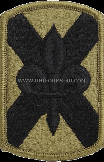 U S  ARMY 256TH INFANTRY BRIGADE COMBAT TEAM PATCH