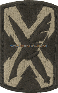 300th military intelligence brigade ACU military Patch