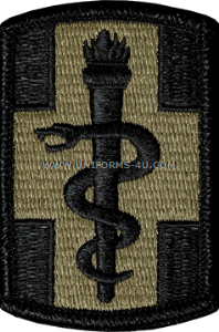 330th medical brigade ACU military Patch