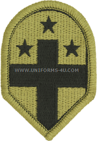 332nd medical brigade ACU military Patch