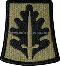 800th military police mp brigade ACU military Patch