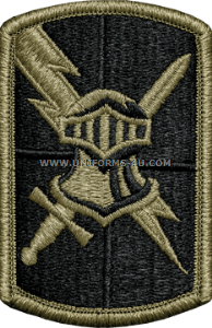 513th military intelligence brigade ACU military Patch