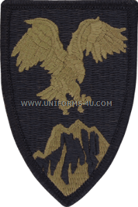 combined forces command afghanistan acu military patch