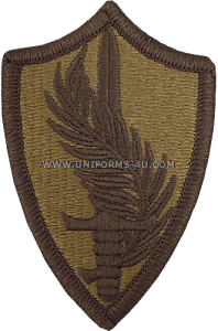 central command ACU military Patch