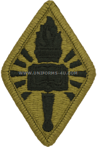 chaplain center and school ACU military Patch