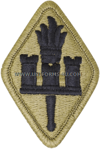 engineers school ACU military Patch