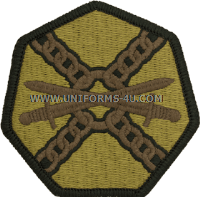 installation management ACU military Patch