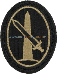 military district of washington ACU military Patch