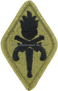military police training school ACU military Patch