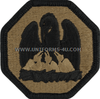 louisiana national guard ACU military Patch
