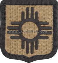 new mexico national guard ACU military Patch