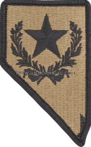 nevada national guard ACU military Patch