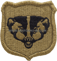 wisconsin national guard ACU military Patch