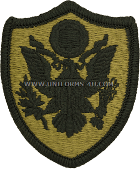 U S  ARMY PERSONNEL IN DOD AND JOINT ACTIVITIES PATCH