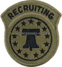 recruiting command ACU military Patch