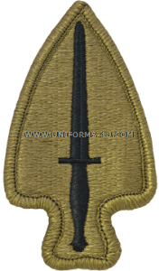 army special operations command acu military patch