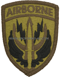 special operations command central ACU military Patch