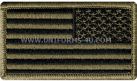united states flag reverse acu patch