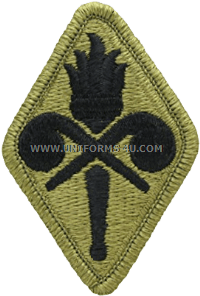 chemical training school ACU military Patch