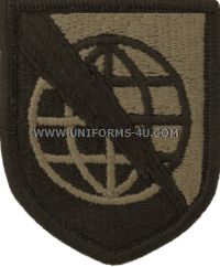 information systems command ACU military Patch