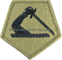 massachussetts national guard ACU military Patch