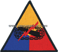 US ARMY ARMOR PLAIN Patch