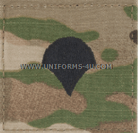 army combat uniform acu spc rank insignia