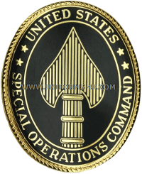 us army special operations command identification badge