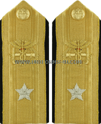 us public health service admirals hard shoulder boards