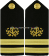 US MERCHANT MARINE HARD SHOULDER BOARDS WITH ANCHOR