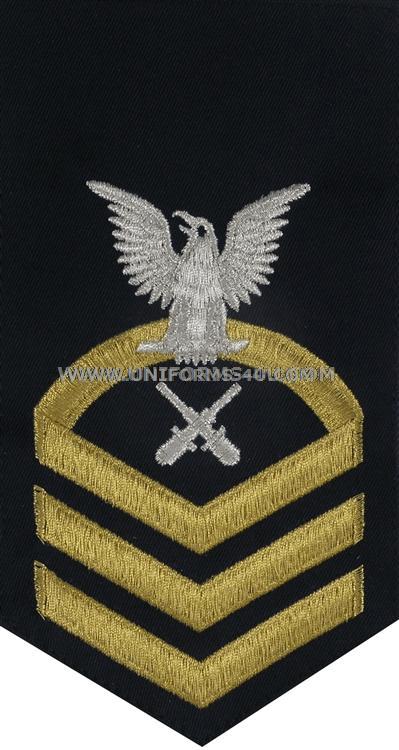 uscg gunner's mate (gm) rating badge